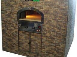 Печь для пиццы на дровах.