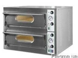 Печь для пиццы Restoitalia RESTO 44 двухкамерная с камнем