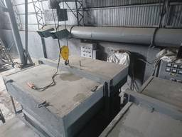 Печь колпачная 150 кВт, колпаковая, колпакова піч, тигельная, тигельна