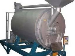 Печь сушильно-жарочная сушилка барабанная конвеерная