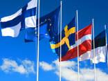 Печать флагов сольвент флаг прапор друк сублимация - фото 4