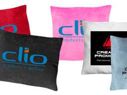 Печать изображений, принтов логотипов на подушках