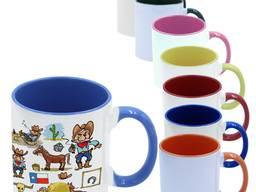 Печать на двухцветных чашках
