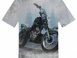Печать на футболках Запорожье - полная запечатка -