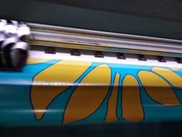 Печать на литом баннере