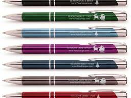 Металлические ручки с логотипом в Киеве