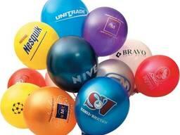 Печать на воздушных шарах, шары с логотипом