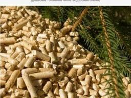 Пеллета топливная, древесная гранула 6мм (сосна)