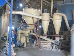 Пеллетный завод (линию по производству древесных гранул)