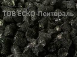 Пеллеты (пелети) из чистой лузги подсолнуха