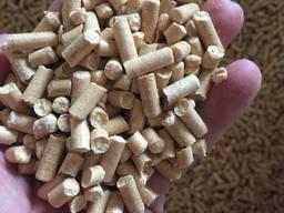 Пеллеты, пелети, древесные сосна от производителя с макарова