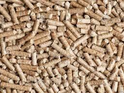 Пеллеты, пелеты, сосна топливные гранулы 6мм Березань Киев