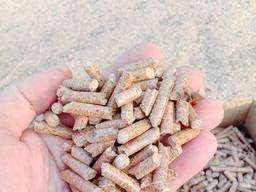 Пеллеты 6 и 8 мм, из сосны от производителя