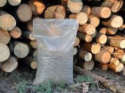 Пеллеты топливные сосновые 8 мм(15кг. )