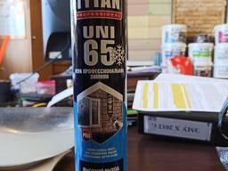 Пена монтажная зимняя для пистолета TYTAN 65 л