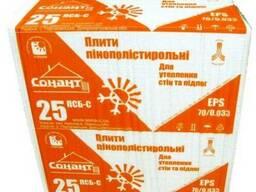 Пенопласт ПСБ С-25