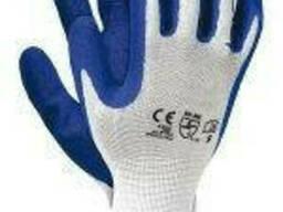 Перчатка Польща стрейч Rtela WN Бело-синяя 12шт.
