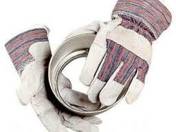 Перчатки «Ангара», спилковые, комбинированные