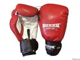 Перчатки боксерские 12 oz (кожа)