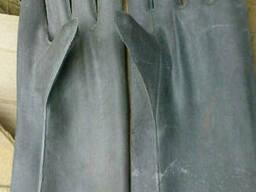 Перчатки диэлектрические шовные.