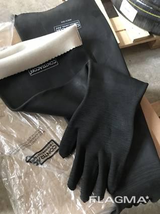 Перчатки для кабины пескоструйщика Contracor