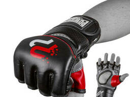 Перчатки для MMA PowerPlay 3093 Черные L