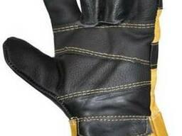 Перчатки кожаные, перчатки хромовые, спецодежда