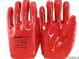 Перчатки Х/Б покрыты ПВХ Profitech PVC 1560