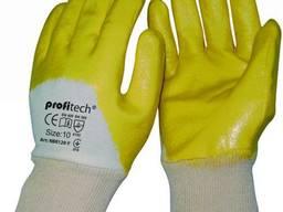 Перчатки хб покрытые нитрилом