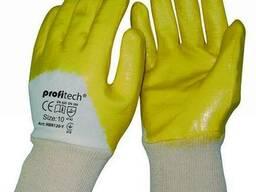 Перчатки Х/Б покрытые нитрилом Profitech NBR1260