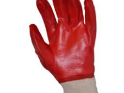 Перчатки х/б покрытые пвх