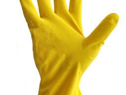 Перчатки хозяйственные из латекса