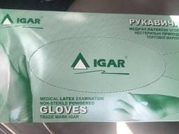 Перчатки Igar латекс