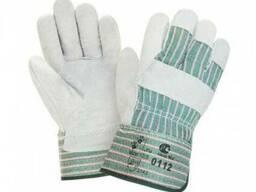 Перчатки комбинированные х/б спилок ЭКО
