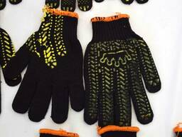 Перчатка рабочая, перчатка трикотажная, перчатка с ПВХ