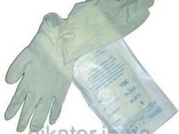 Перчатки латексные стерильные хирургические Safe-touch