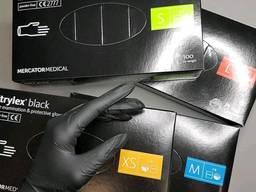 Оптом нитриловые перчатки одноразовые медицинские nitrylex опт акция