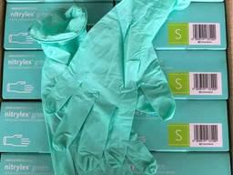 Перчатки нитриловые Nitrylex перчатки защитные одноразовые нитрил