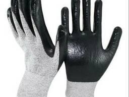 Перчатки нейлоновые покр. нитрилом