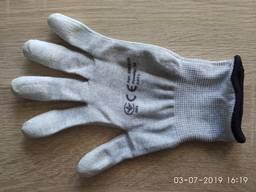 Перчатки нейлоновые с углеродным антистатическим волокном