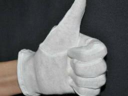 Перчатки официанта LUX с длинный манжетом