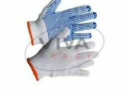 Перчатки Полиэстер с ПВХ 9510, 5 нитей