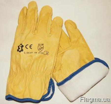 Перчатки премиум качества с утепляющей подкладкой