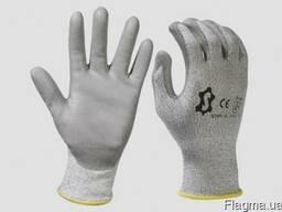 Перчатки рабочие с неполным покрытием, супер прочные