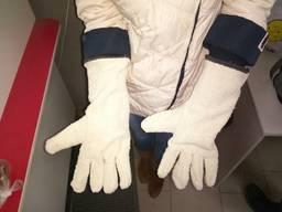 Перчатки рабочие термостойкие буклированные