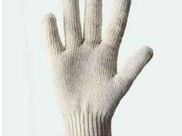 Перчатки рабочие, трикотажные, белые. От 100 пар