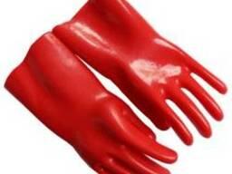 Перчатки резиновые диэлектрические класса 1