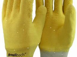 Перчатки с х/б латексное покрытие