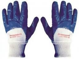 Перчатки с нитриловым покрытием, вязаный манжет master tools