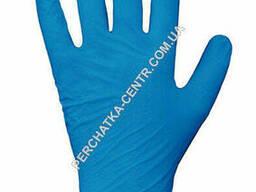 """Перчатки смотровые Нитриловые синие """"XL"""" (уп. 50 пар)"""